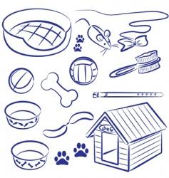 pet food vector image