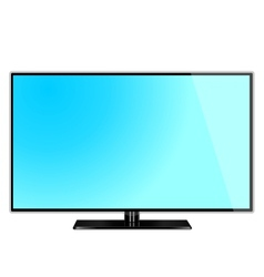 lcd screen monitor tv vector image