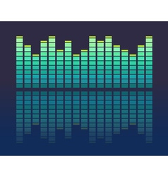 Music volume abstract background vector