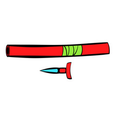 Ninja weapon icon icon cartoon vector