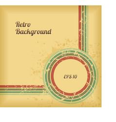 Retro Background Design vector image