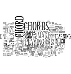 What you should know about beginner guitar chords vector