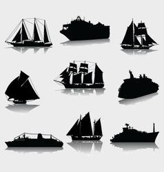 Ships vector