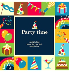 Party time frame vector