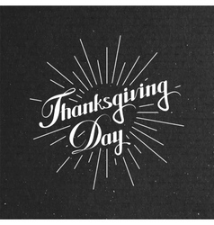 Thanksgiving day holiday vector