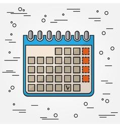 Calendar icon calendar icon calendar icon drawing vector
