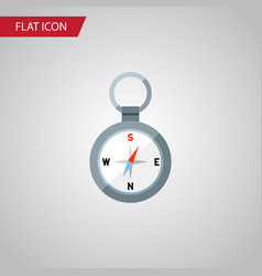 Isolated magnet navigator flat icon direction vector