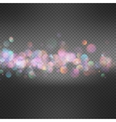 Light background with bokeh EPS 10 vector image vector image