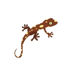 Salamander icon in flat style vector