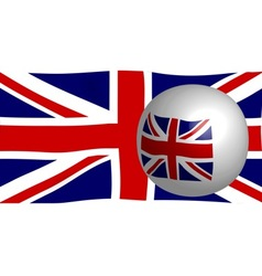 Union Jack Flag vector image