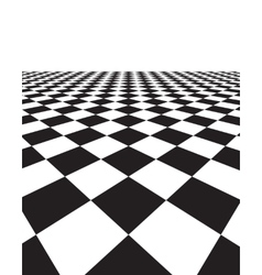 Black and white background with squares vector