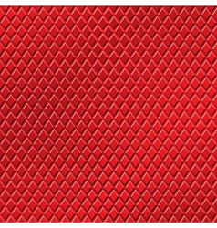 Red metallic background vector