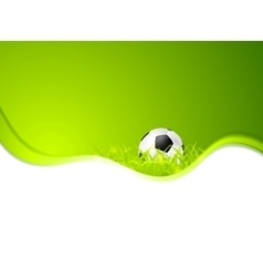 Abstract sport soccer background vector image vector image