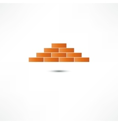 Brickwork icon vector