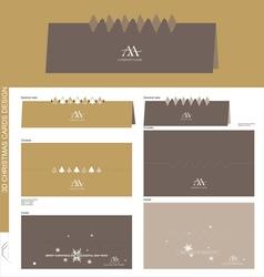Christmas cards vector