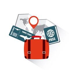 Holiday travel vector