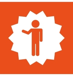 Male man pictogram vector
