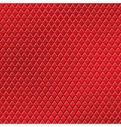 Red metallic background vector
