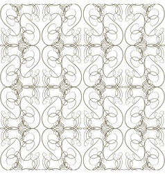 Seamless calligraphical pattern vector