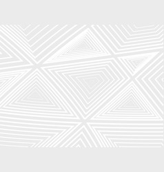 concentration of white geometric shapes on a gray vector image vector image