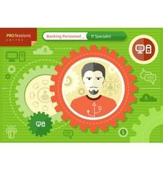 Make it specialist profession concept vector