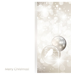 Christmas holiday frame vector