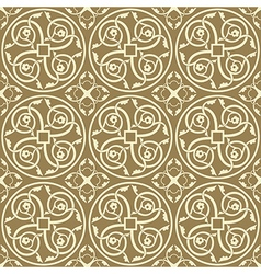 Gothic ornament vector
