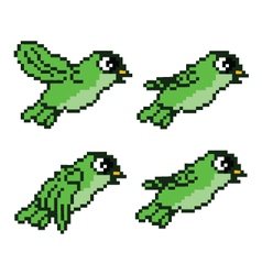 Bird Sprite vector image