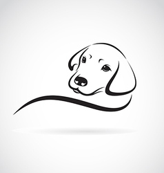 Dog labrador vector image