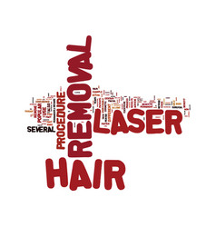 Laser hair removal how does this process work vector