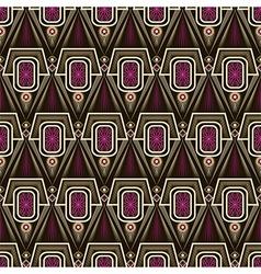 Seamless antique art deco lace pattern ornament vector image vector image