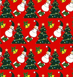 Seamless Christmas pattern - vector image