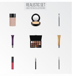 Realistic liquid lipstick day creme concealer vector
