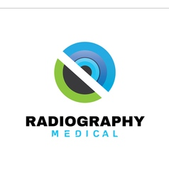 Radiography medical design vector