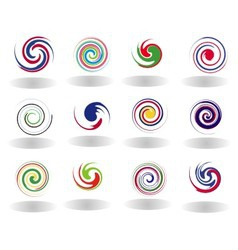 Abstract Circular Set vector image vector image