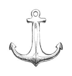 Anchor icon Sea lifestyle design graphic vector image vector image