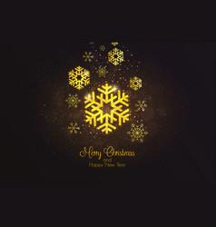 Holiday new year card 3 vector