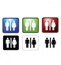 Mf toilets vector