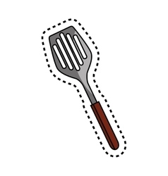 Mixer kitchen tool isolated icon vector