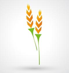 Rice icon vector