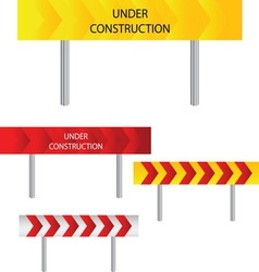 under construction 08 resize vector image