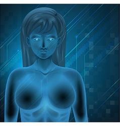 Human DNA vector image