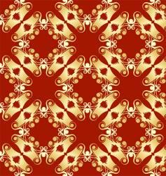 abstract pagoda pattern vector image