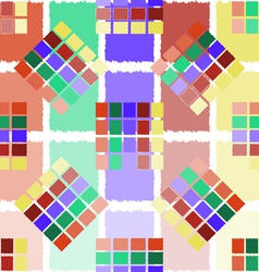 Colored squares vector