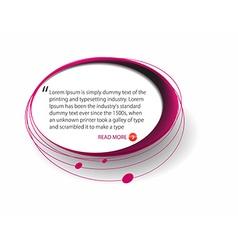 Web elements design vector image