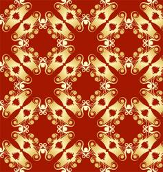 abstract pagoda pattern vector image