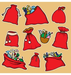 Canvas sack vector image