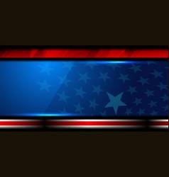 Usa flag color design vector