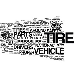 Your tire counts text background word cloud vector