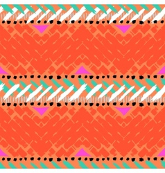 Grunge hand painted seamless pattern vector